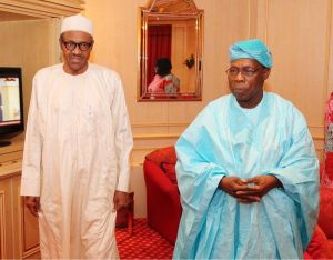 Obasanjo Praises Buhari, Says He Is 'Reasonably Satisfied'